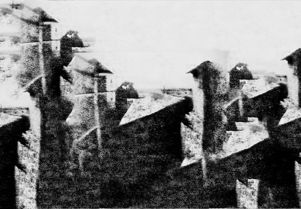 Extended View from the Window at Le Gras : Do It First Photograph 1826